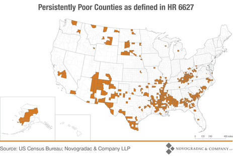 Blog Map Persistently Poor Counties as Defined in HR 6627