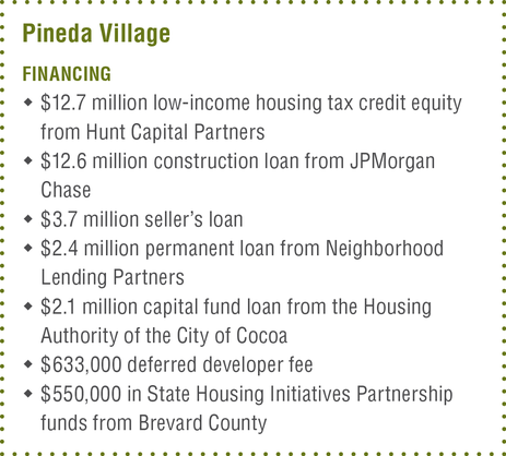 Journal September 2018 HUD Pineda Village financing
