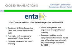 Enta Campus and Enta USA