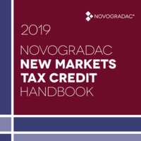 Handbook Cover -  New Markets Tax Credit 2019
