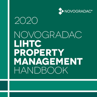 Handbook Cover - LIHTC Property Management 2020