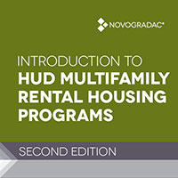 Booklet Cover - Introduction to HUD Multifamily Housing Second Edition