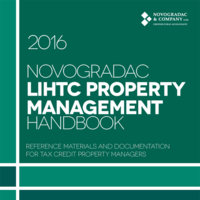 Handbook Cover LIHTC Property Management Handbook, 2016 Edition 2
