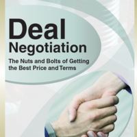 Deal Negotiation Documentation Manual Cover