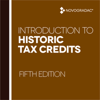 Booklet Cover - Introduction to Historic Tax Credits Fifth Edition