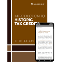 Booklet Cover - Introduction to Historic Tax Credits Fifth Edition Premium