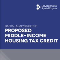 Report Cover - Capital Analysis of the Proposed Middle-Income Housing Tax Credit