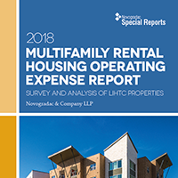 Report Multifamily Rental housing Operating Expense Report 2018 Edition