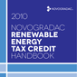 Handbook cover Renewable Energy Tax Credit , 2010 Edition