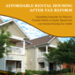 product special report affordable rental housing after tax reform