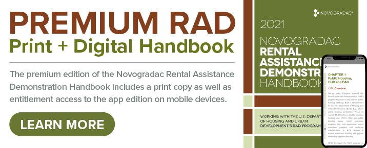 House Ad Banner RAD 2021 Handbook Premium