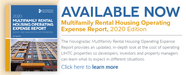 Products Banner Multifamily Rental Housing Operating Expense Report