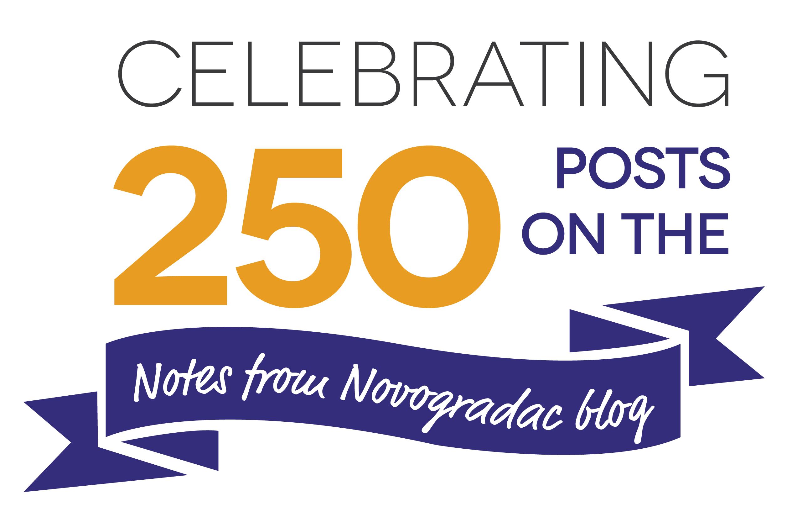 Blog Celebrating 250 Posts
