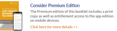 House Ad Banner - Intro to LIHTC Sixth Edition Premium